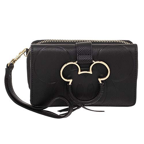 Disney Mickey Mouse Conventional Zipper Wallet (Mickey Mouse Hinge Wallets)