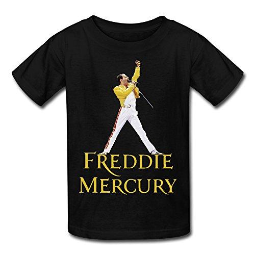 WOOBE Teen Queen Freddie Mercury T Shirts For Boys / Girls