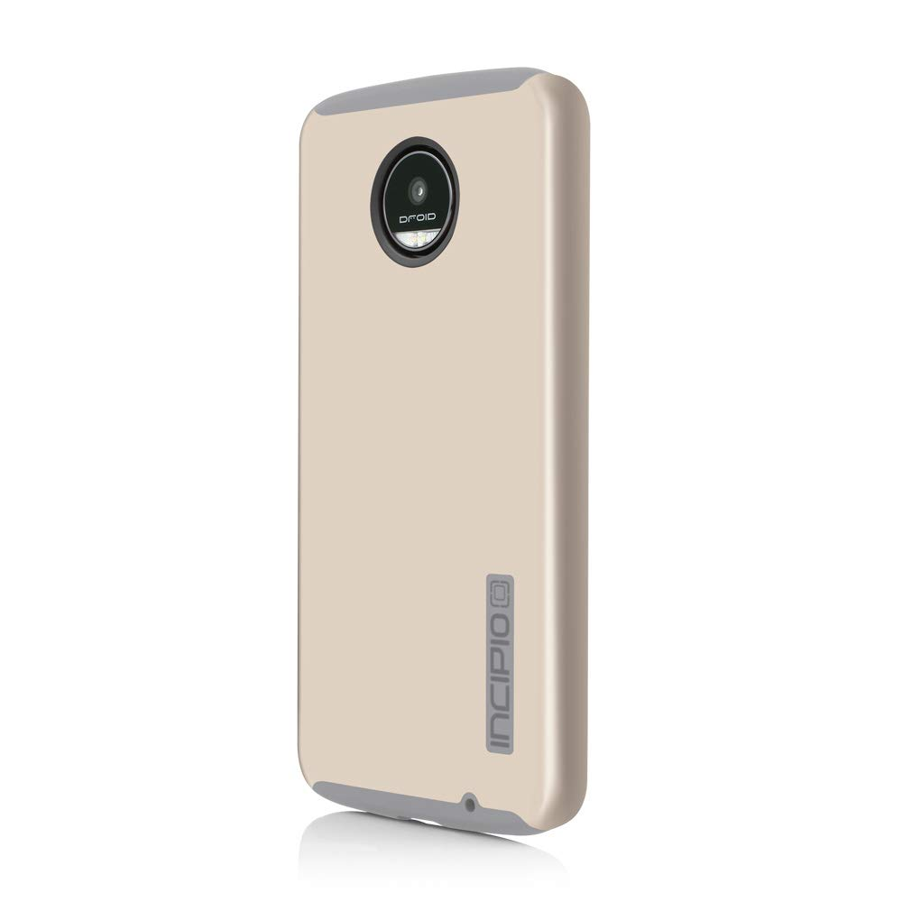 official photos 8b5bf d6e6e Incipio Motorola Moto Z Play Dualpro Case - Iridescent Champagne and Light  Gray