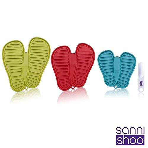 Thunderdog Shoo.Pad - Bandeja de Goteo para los Zapatos - con Originales Sanni Shoo Calzador (3 Pers Set No.2) XTXdhrPjX