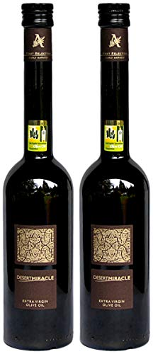 Atlas Olive Oils SARL, Desert Miracle Extra Virgin Olive Oil (Organic), Ultra-Premium (Pack of 2), Imported from Morocco, 17 fl oz - El Olive