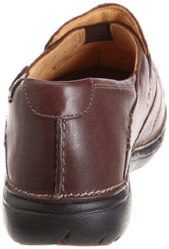 Clarks Loop Black Leather 203128374030, Chaussures à lacets femme Marron (Ebony Leather)