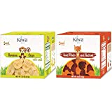 Kiwa Kids Chips 10 Bag Dual-Pack (5 Banana Chips With Salt, 5 Sweet Potato & Beet Chips) All Natural Plant Based, Sustainably Sourced, Non-GMO, Gluten Free, Lunchbox Snack