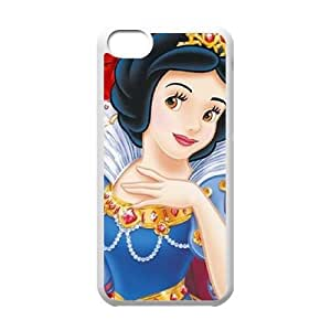 iPhone 5c Cell Phone Case White Snow White and the Seven Dwarfs URM Unique DIY Cell Phone Case