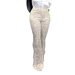 Sequine Sparkle Party Stretchy Leggings