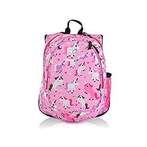 Amazon.com   Girls Pink Unicorn Heart Backpack Cute All