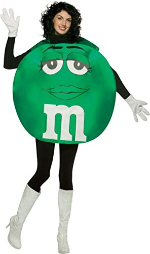 Adult Poncho Green M & M's Costumes (Morris Costumes M&M'S Green Poncho Adult)