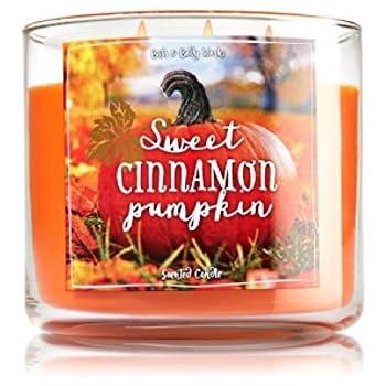 Bath & Body Works 3-Wick Candle Sweet Cinnamon Pumpkin