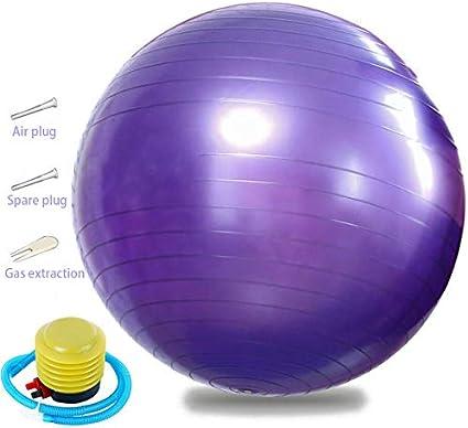 Deportes pelota de yoga pelota fitness, 75 cm bola deportiva con ...