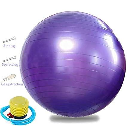 Deportes pelota de yoga pelota fitness, 75 cm bola deportiva ...
