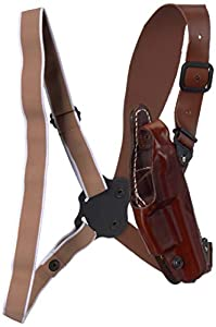 Vega Holsters V O136 Leather Shoulder Holster, Brown