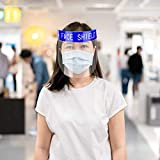 5PCS Safety Face Shield Full Protection Cap Wide