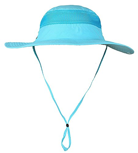 Mazo Camping Hat Outdoor Quick-dry Hat Sun Hat Fishing Cap(Azure)