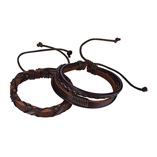 Vintage Leather Woven Bracelet - 2
