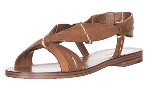 Bottega Veneta - Zapatos De Mujer En Piel, Color Marrón, Marrones, Sandalias Us 6 Eu 36