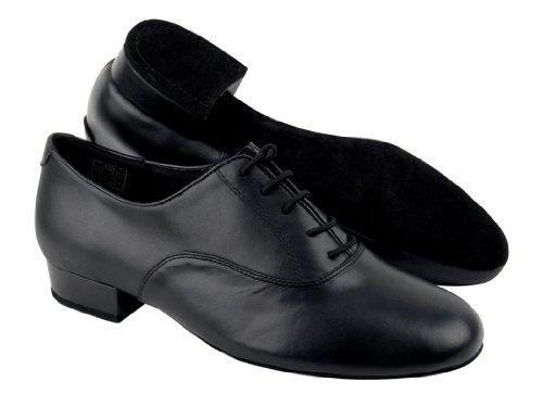 Scarpe Molto Belle Da Uomo Standard E Liscia Ballerina Competitiva Serie  Cd1420 In Pelle Nera Con
