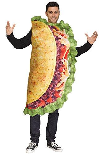 Fun World Men's Taco, Multi-Colored, STD. Up to 6' / 200 lbs. ()