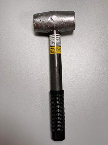 Falls 5lb Lead Hammer for Knock Off Wire Wheel-Made in USA