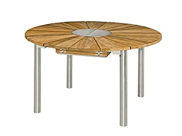 Zebra Green Line Catax extractible Table en Teck/INOX: Amazon.fr: Jardin