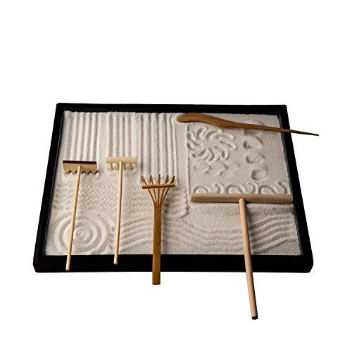 Charmant ICNBUYS Professional Mini Zen Garden Rake Tools Set Three Rakes One Bamboo  Drawing Pen One Pushing