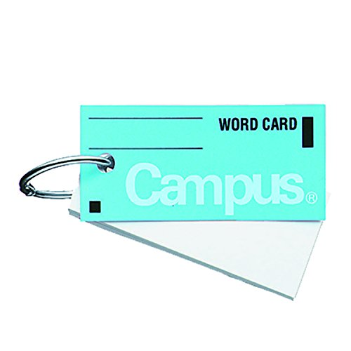 Price comparison product image Campus word card in blue Tan -101B