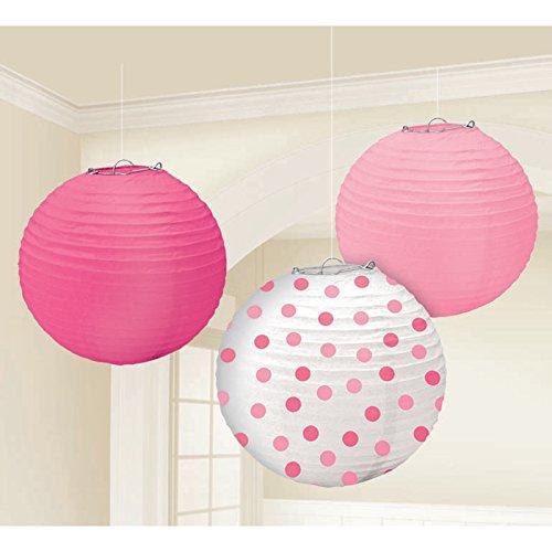 Round Paper Lantern-Baby Girl -