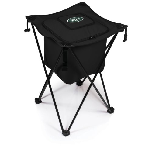 NFL New York Jets Sidekick Insulated Portable Cooler with Integrated Legs