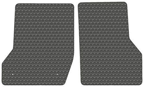- Freightliner Business Class M2 - Gray Rubbertite All-Weather Floor Mats by Lloyd's - 2 Piece Cab Fronts - Fits 2003-2019