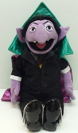 Buy Sesame Street Large 19 Plush Count Von Count Doll One