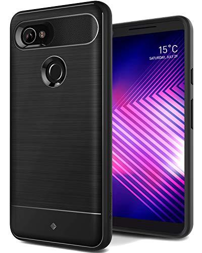 Caseology Vault for Google Pixel 2 XL Case (2017) - Rugged Matte Finish - Black