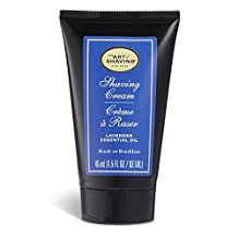 The Art of Shaving Cream Pump for Men, Lavender, 1.5 Ounce