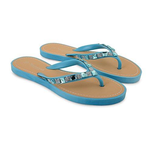 Footwear Sensation - Sandalias para mujer Azul - azul claro