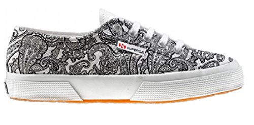 Superga Chaussures Coutume (ARTISAN SHOE)Black & White Paisley
