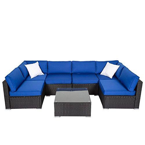Light Blue Patio Furniture in US - 4