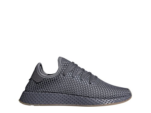 half off da1ed c4785 Galleon - Adidas Mens Originals DEERUPT Runner Shoe GreyWhite (11.5 D(M)  US)