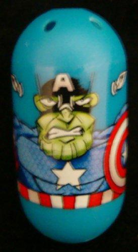 Mighty Beanz Marvel - Single Bean - CAPTAIN AMERICA (Skrull) #40