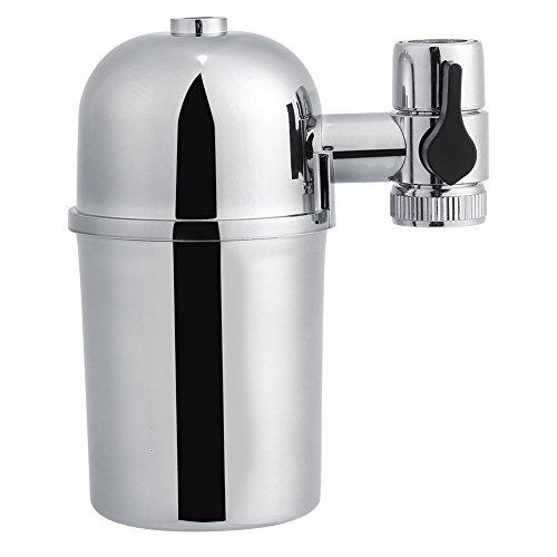 Filtro de Agua de Grifo Purificador de Agua Grifo de Cartucho de Cerámica Grifo de Agua Purificador Contaminantes Eliminar...