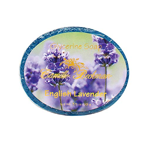 Camille Beckman Glycerine Bar Soap, English Lavender, 3.5 oz
