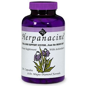 Herpanacine - The Total Skin Support System From the Inside Out 200 capsules - Single Item