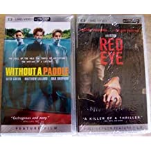 2 NEW PSP UMD Mini DVD Movie Without a Paddle & Red Eye
