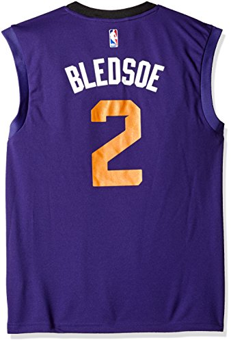 NBA Phoenix Suns Eric Bledsoe #2 Men's Replica Jersey, Medium, Purple