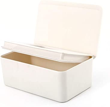 Fablcrew - Caja de pañuelos para bebés, caja de tela, dispensador de pañuelos con tapa para servilletas de papel: Amazon.es: Belleza