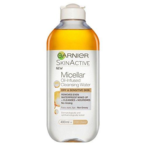 Garnier Skin Naturals Micellar Oil Infused Water (Pack of 6) - ガルニエ肌ナチュラルミセル油注入された水 x6 [並行輸入品] B071RNB5D7