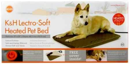 K H Pet Products Lectro-Soft Outdoor Heated Bed with FREE Cover – MET Safety Listed