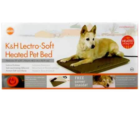K&H Manufacturing KH Lectro Soft Heated Pet Bed (19' x 24')