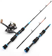 65cm 70g Winter Ice Fishing Rod 2 Sections Carbon Super Hard Rotating Rod Travel Ice Fishing Rod Reel Combinat
