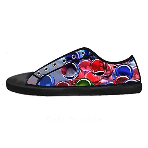 Custom Stampa 3D stereoscopica Mens Canvas Shoes I Lacci delle Scarpe in Alto Sopra Le Scarpe da Ginnastica di Scarpe Scarpe di Tela.