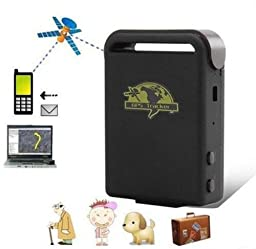 JahyShow® Mini Spy Vehicle Real time Tracker For GSM GPRS GPS System Tracking Device TK102 Color Black
