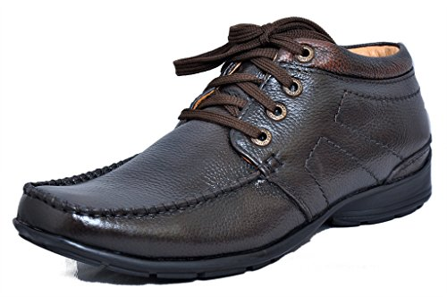 the best attitude 03ce7 729b5 Zoom High Ankle Mens Shoes Online Genuine Leather Formal Shoes D-2572-Brown  Shoes -7  Buy Online at Low Prices in India - Amazon.in