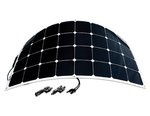 Go Power! (GP-FLEX-100E) 100W Flexible Mono Crystalline Solar Expansion Kit